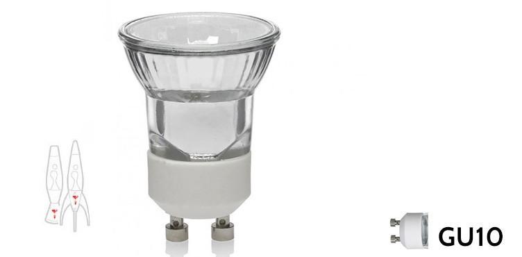 28W - Telstar Lava Lamp Bulb - GU10 fitting halogen
