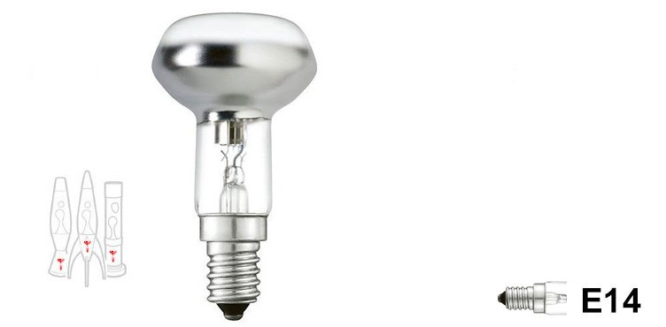30W - Astrobaby, Telstar, Jet lava lamp - Screw fitting bulb