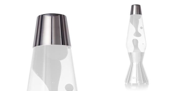 Astro lava lamp - polished cap