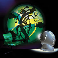 Sensory projector silver - Fairy tales 4 with lava wheel